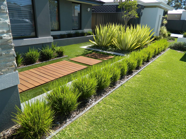 Modern Low-Water Garden: 5 Drought-Tolerant Landscaping ...